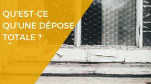 Rénovation des fenêtres : qu'est ce que la dépose totale ?