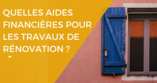 Dossier spécial aides financieres renovation - Renovart