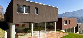 Maison à ouvertures aluminium