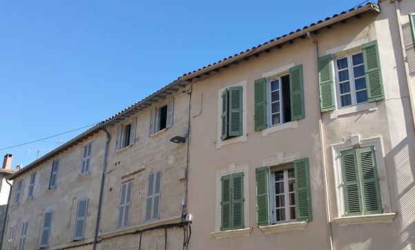 Volets persiennes à Avignon