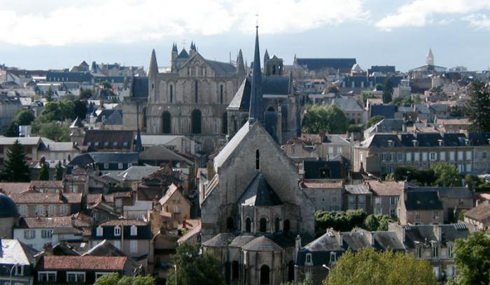 Couleurs de la ville de Poitiers - image CC