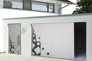 Tout l'intérêt des portes de garage coulissantes en alu !