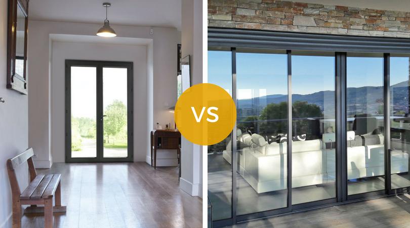 Porte-fenêtre battante ou baie vitrée : notre comparatif