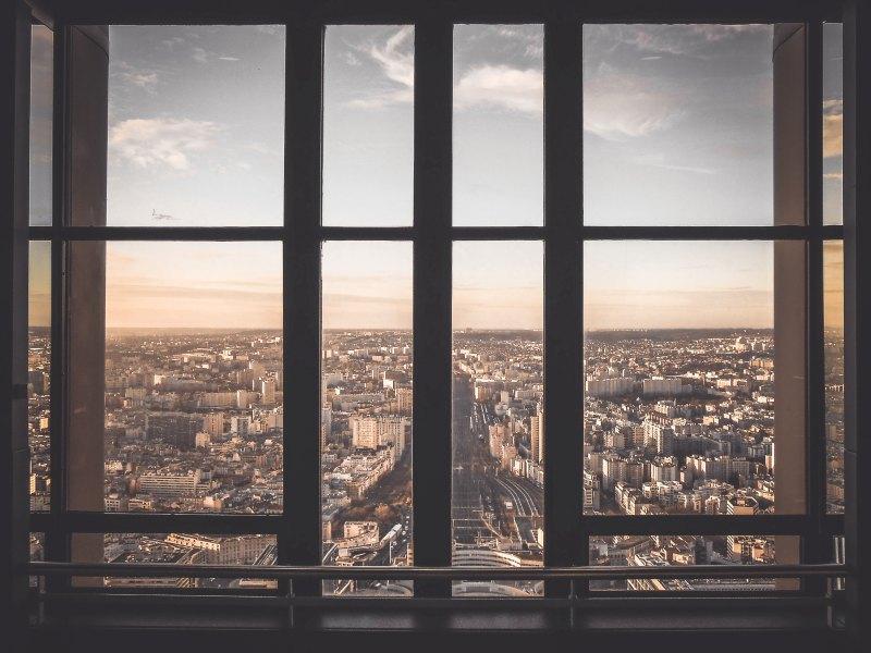 Dans les secteurs protégés, certaines fenêtres n'ont pas de volets.