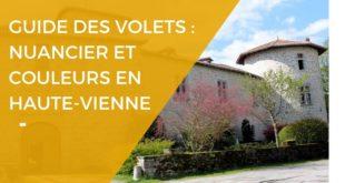 Guide des couleurs de volets en Haute-Vienne